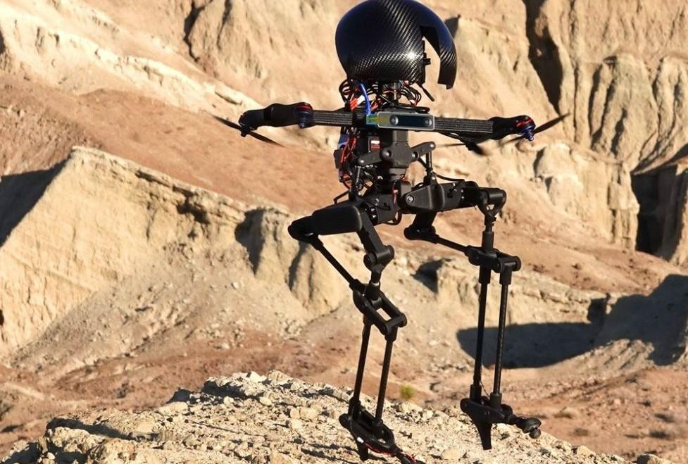 LEONARDO, le robot bipède qui marche et qui vole