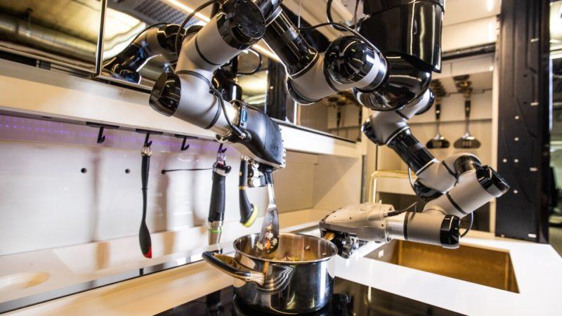 Moley Robotics développe son robot cuisinier