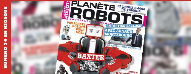 Planète Robots numéro 24 en kiosque !