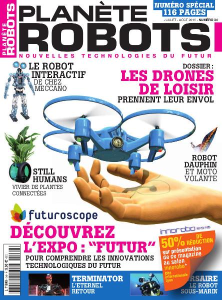 Planete Robots 34 - drones
