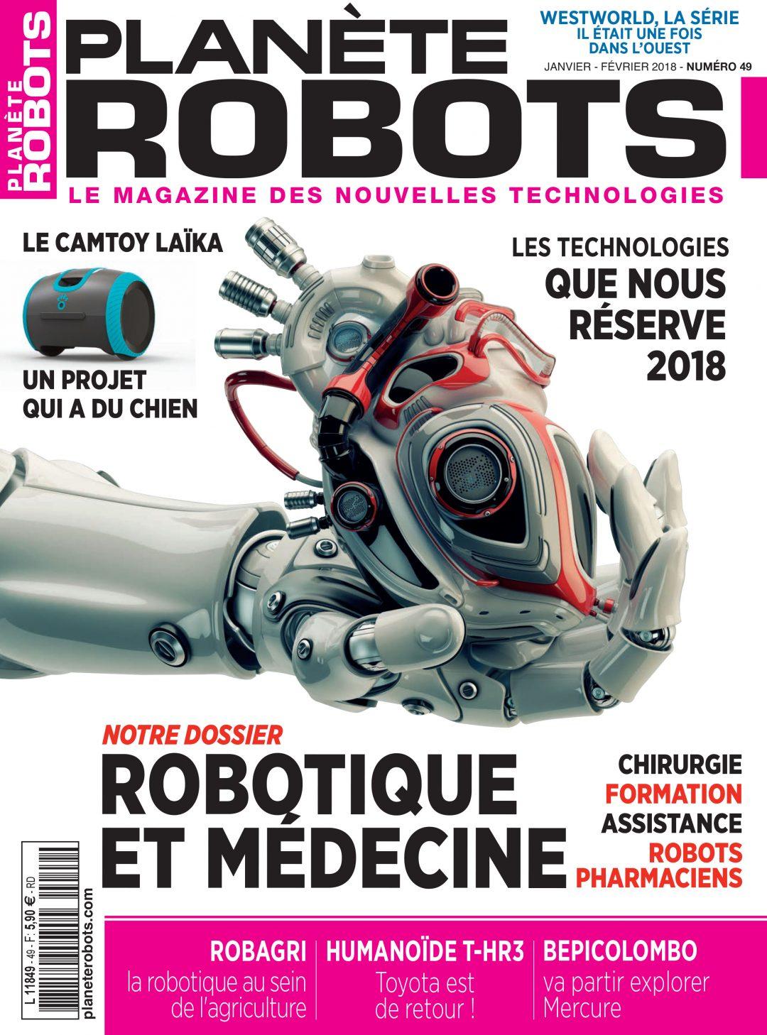 Planète Robots n° 49 – Extrait de 15 pages