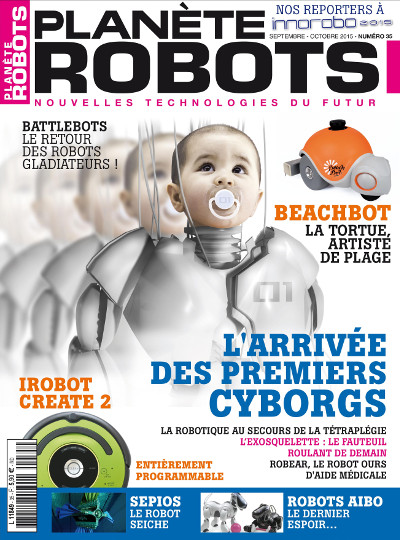 Couverture Planete Robots 35