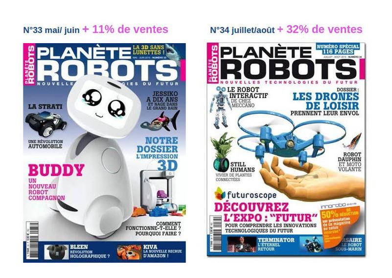 Planète Robots continue sa percée !