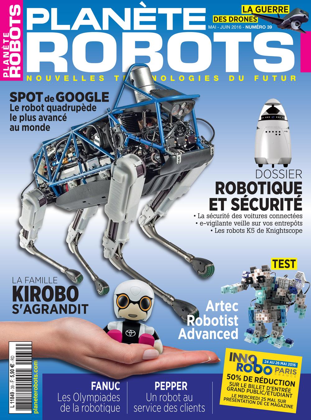 Planète Robots numéro 39 – Extrait de 15 pages