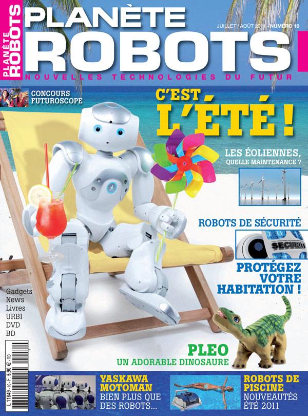 Planète Robots numéro 10