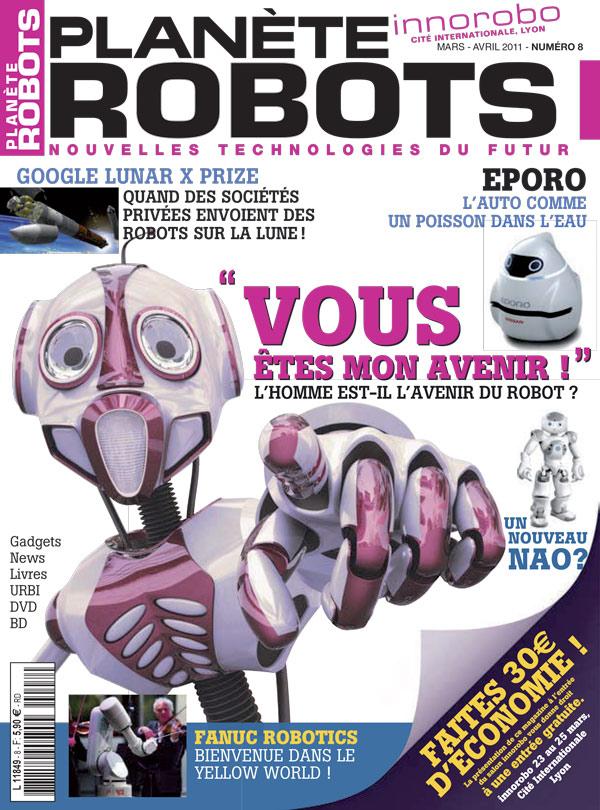 Planète Robots numéro 8