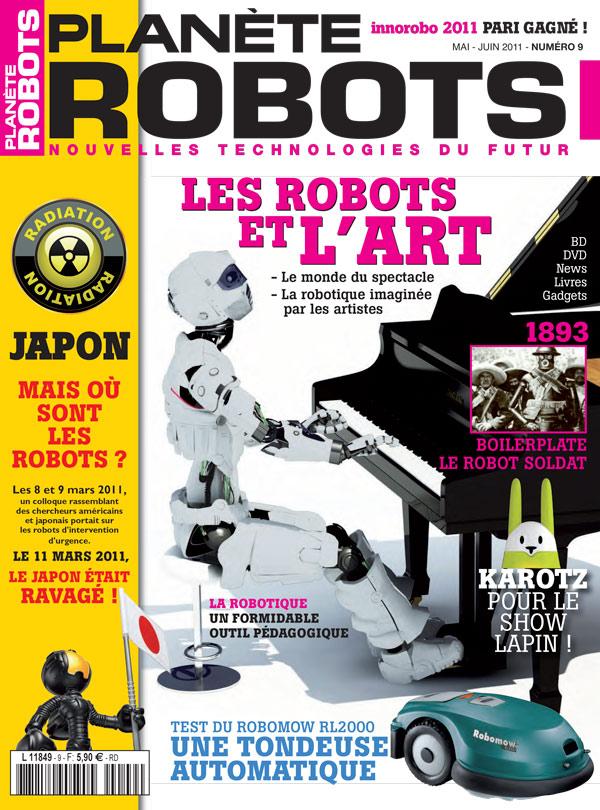 Planète Robots numéro 9