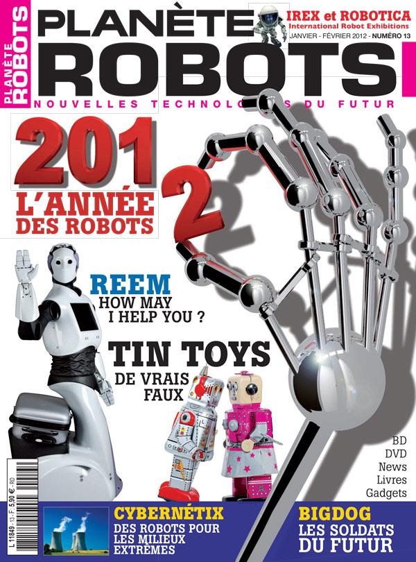 Planète Robots numéro 13