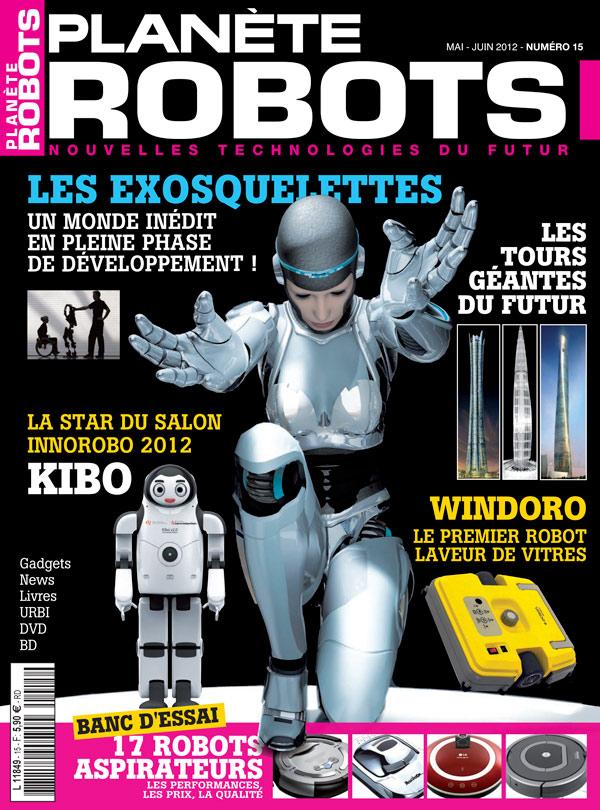 Planète Robots numéro 15