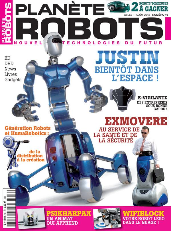 Planète Robots numéro 16