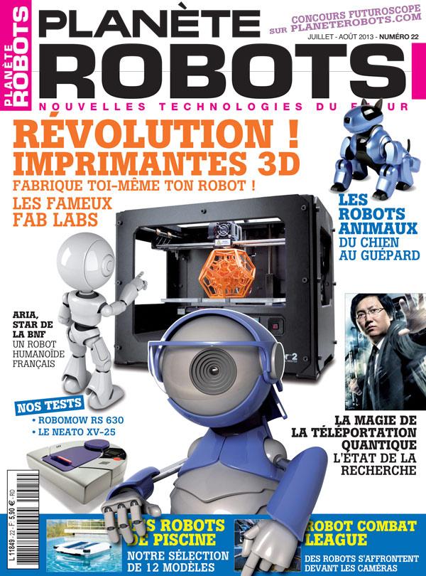 Planète Robots numéro 22