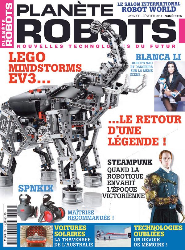 Planète Robots numéro 25