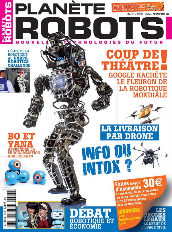 Planète Robots numéro 26