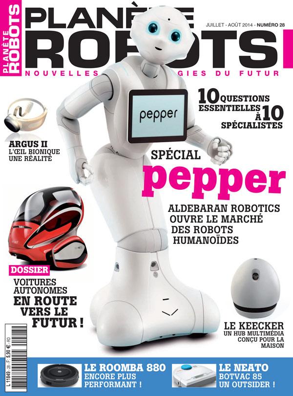 Planète Robots numéro 28
