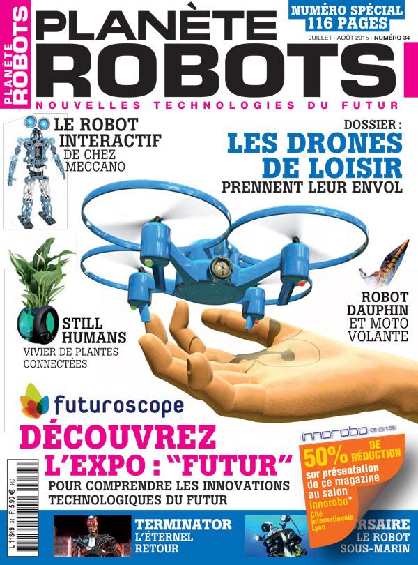 Planète Robots numéro 34