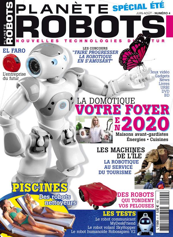 Planète Robots numéro 4
