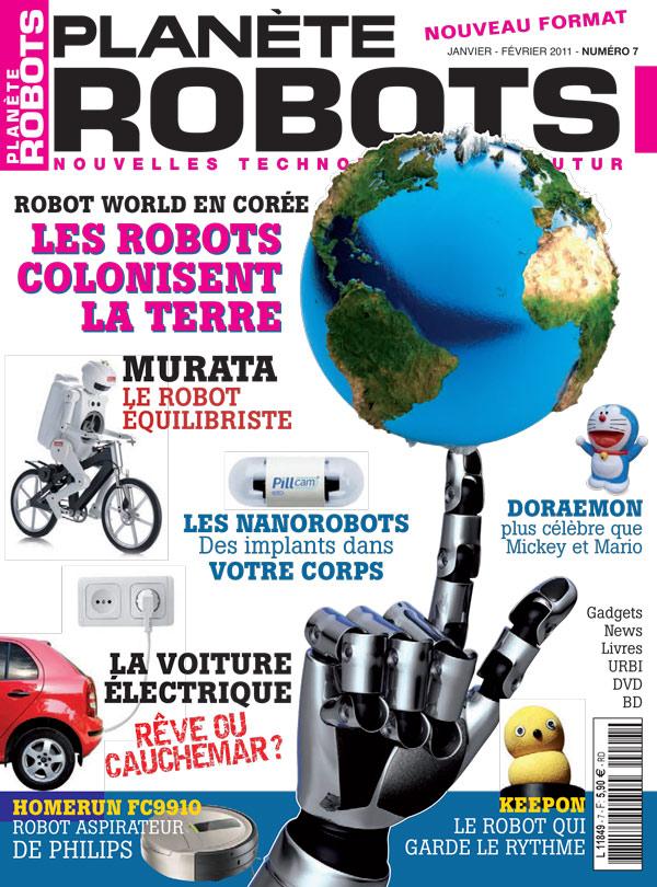 Planète Robots numéro 7