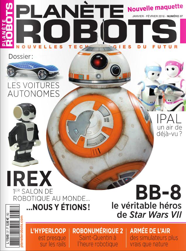 Planète Robots numéro 37 – Extrait de 20 pages