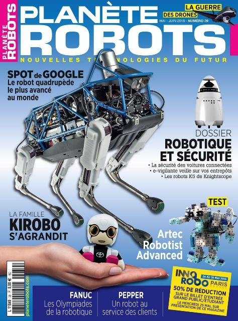 Planète Robots n° 39 en kiosque dès le 23 avril !
