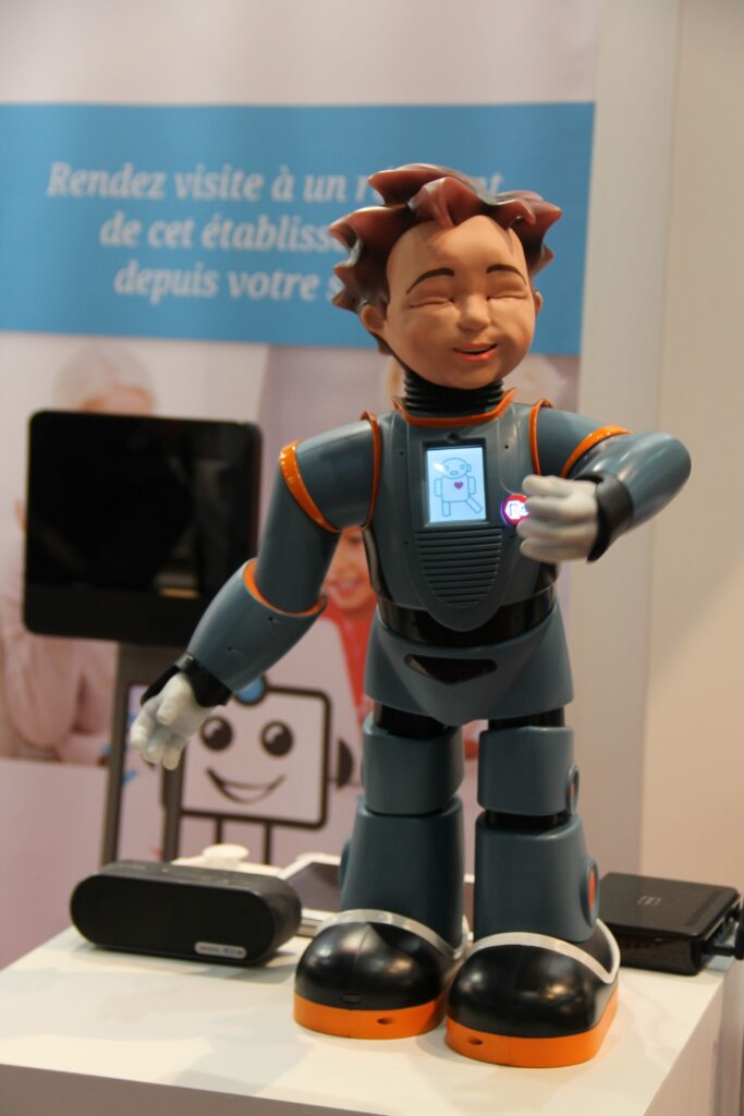 milo robot height