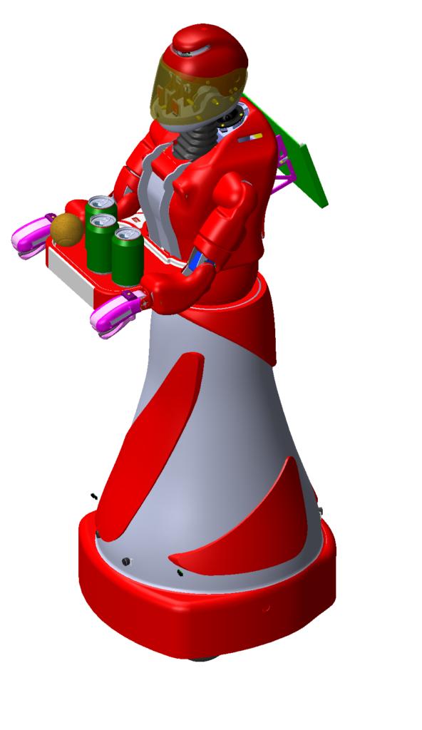 Robot Leenby de Cybedroid en pied