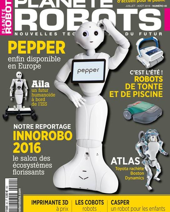 Planète Robot n° 40 est en kiosque !