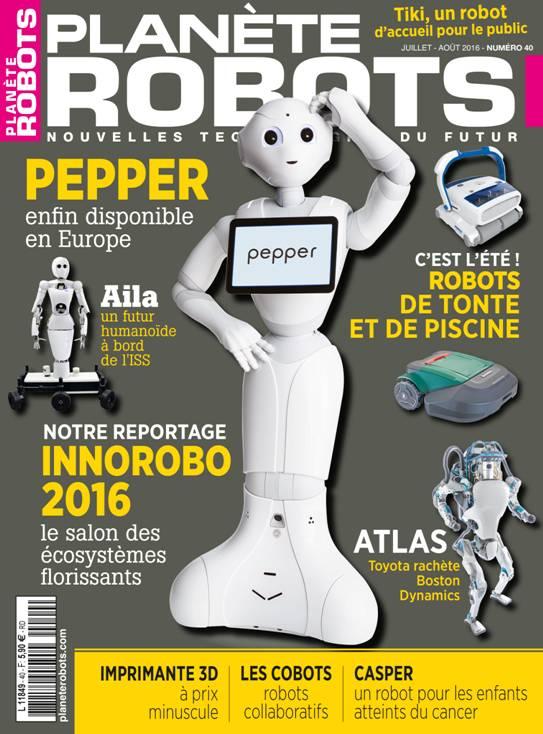 Planète Robots n° 40
