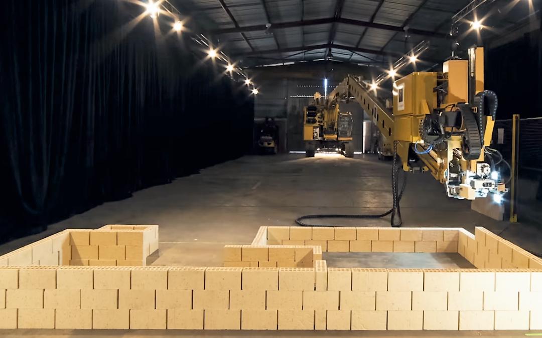Les robots savent désormais construire des maisons