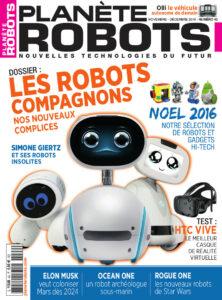 Couverture Planete Robots 42