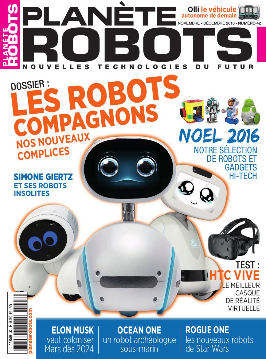 Planète Robots n° 42 – Extrait de 16 pages