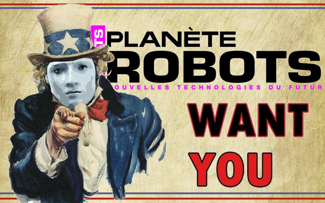 Planète Robots recrute un chef de pub