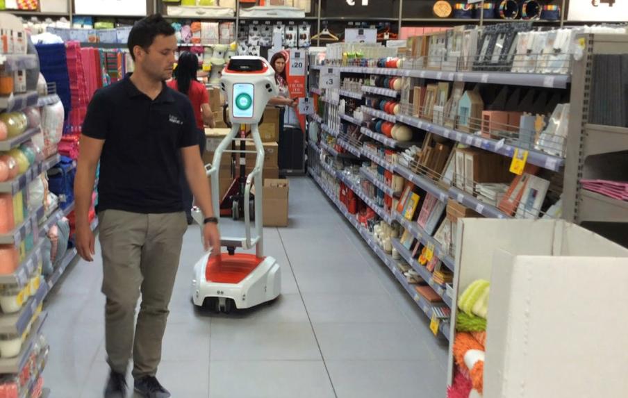 wiiGo, un caddie autonome qui vous suit et porte les courses