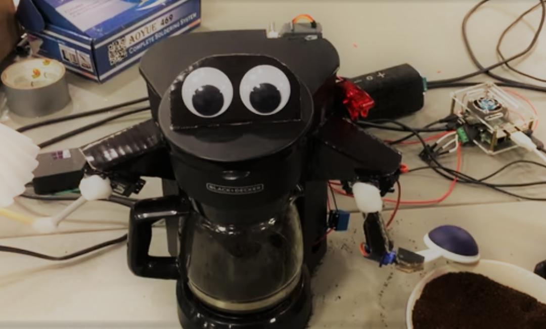 Un robot pour faire le caf plan te robots - Robot pour faire soupe ...