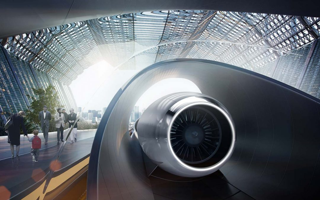 Hyperloop se place en France à Toulouse