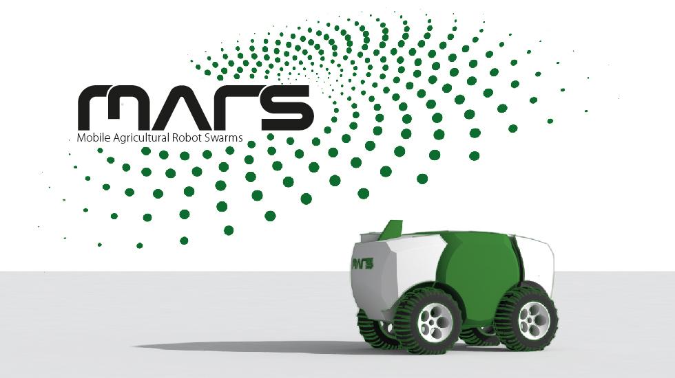 Un concept de robots en essaims pour l'agriculture