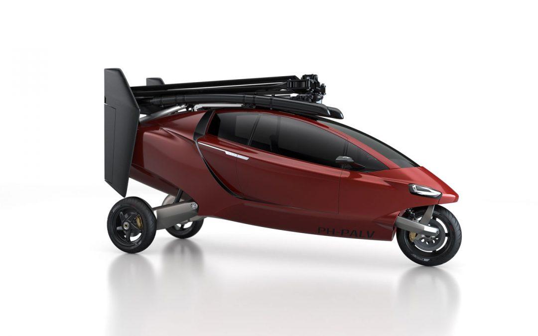 La première offre mondiale de voiture volante certifiée !