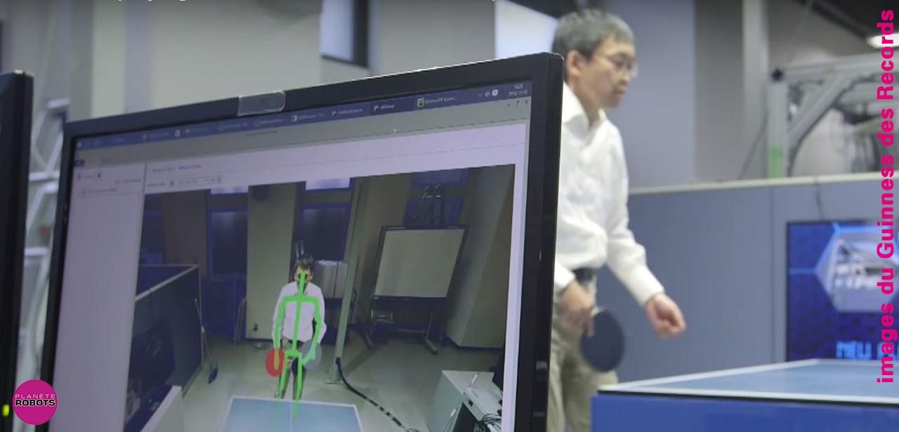 Un robot japonais entra neur de tennis de table - Robot tennis de table occasion ...
