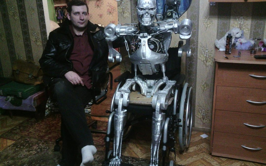 Fan du film Terminator il construit son T-800 !
