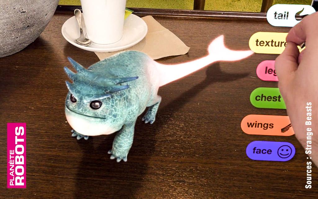 Partager sa vie de tous les jours avec une créature virtuelle, jusqu'où ?