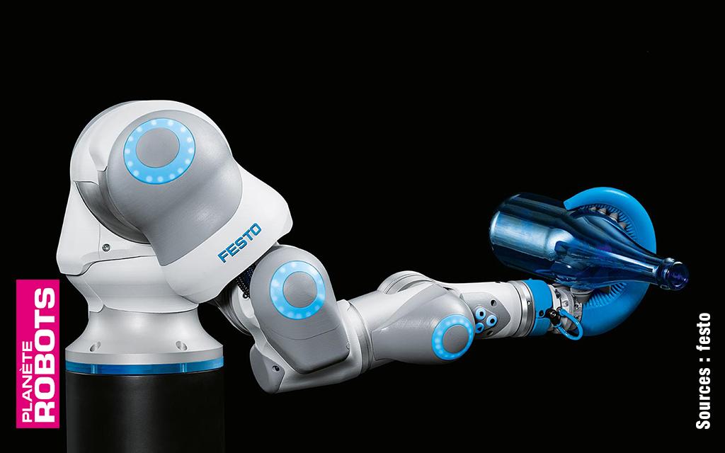 Le nouveau robot de Festo s'inspire des tentacules