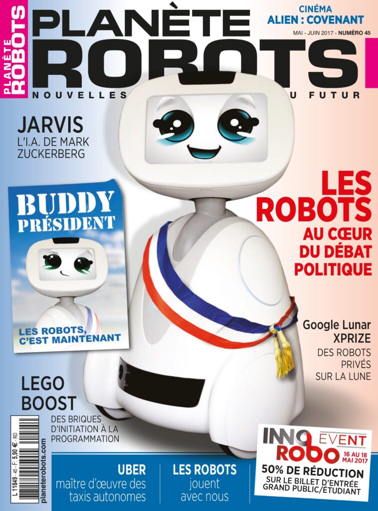 Couverture du Magazine Planète Robots n° 45