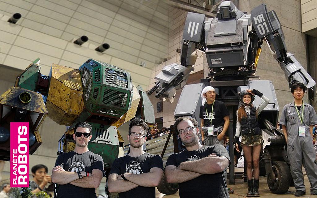 En août 2017 est annoncé le début d'un choc de titans robotiques