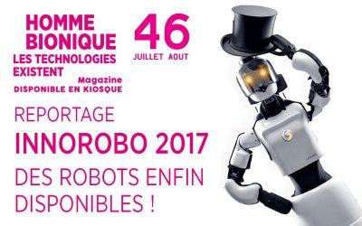 Découvrez le sommaire du Planète Robots n° 46, disponible en kiosque