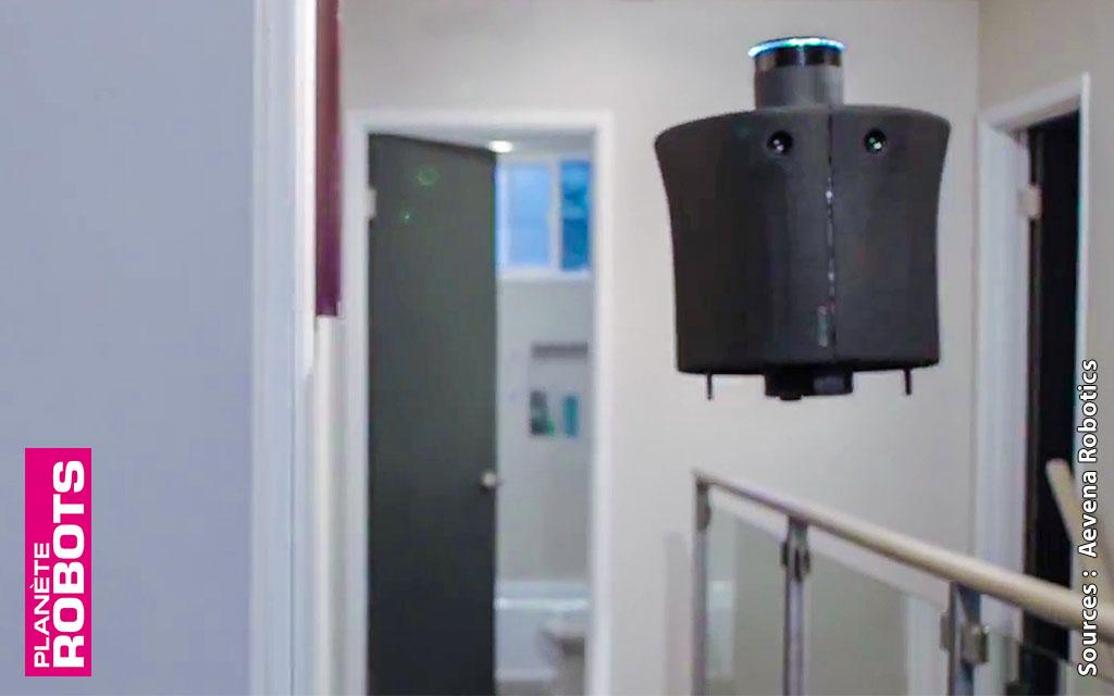 Aire, le premier robot assistant volant