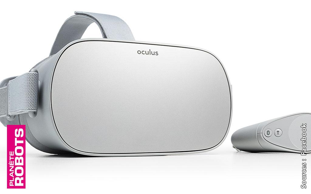 Facebook lance son Oculus Go sur le marché des casques VR