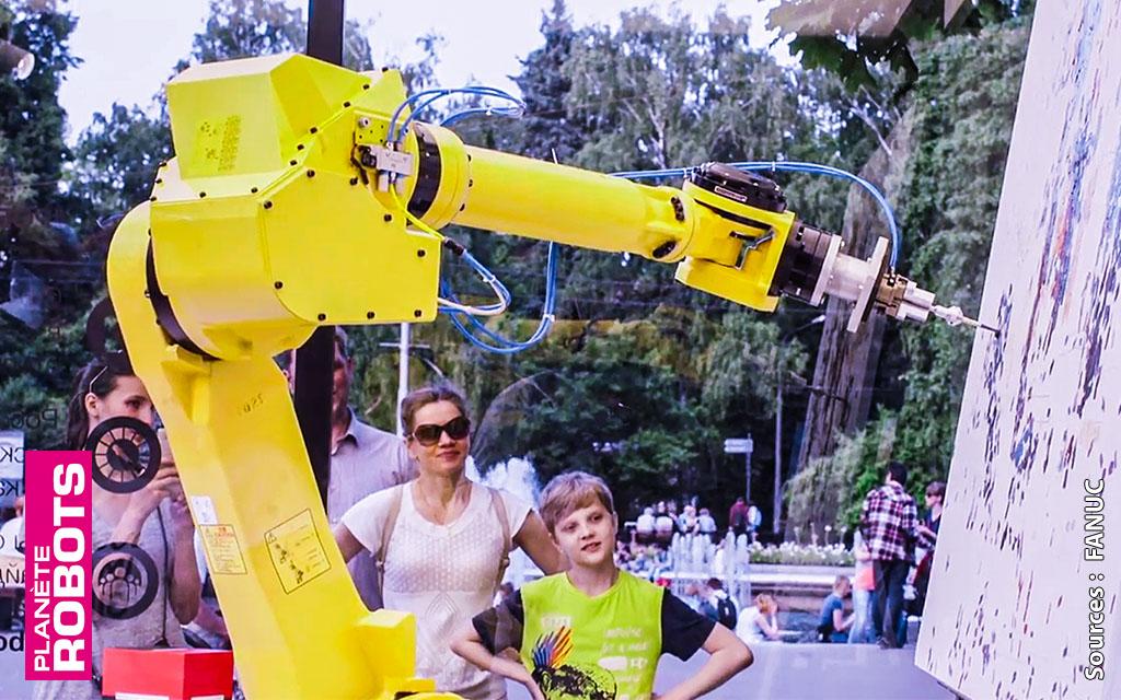 Le bras robot de l'impressionniste