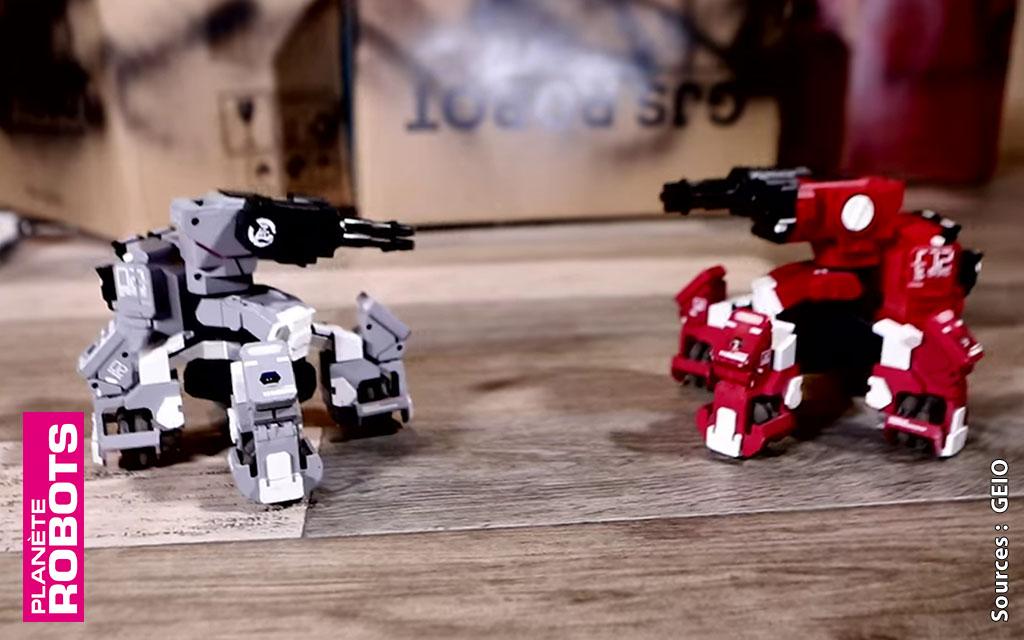 On se fait un FPS avec les robots GEIO dans la cuisine ?
