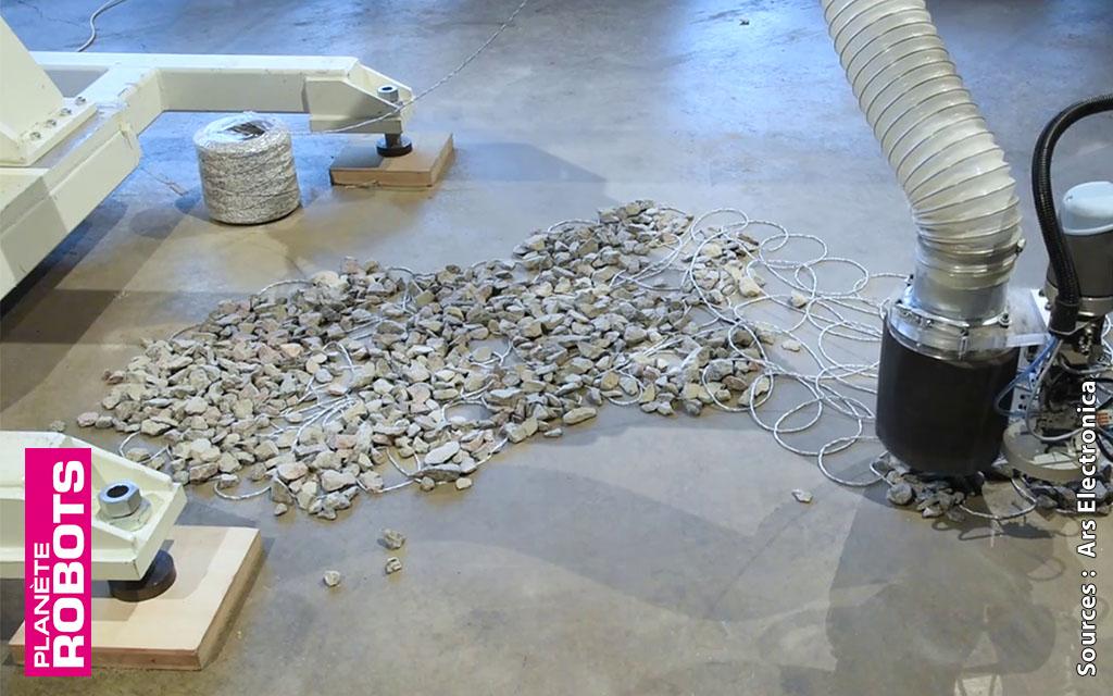 Lorsque l'art et la robotique se rencontrent au service de l'architecture