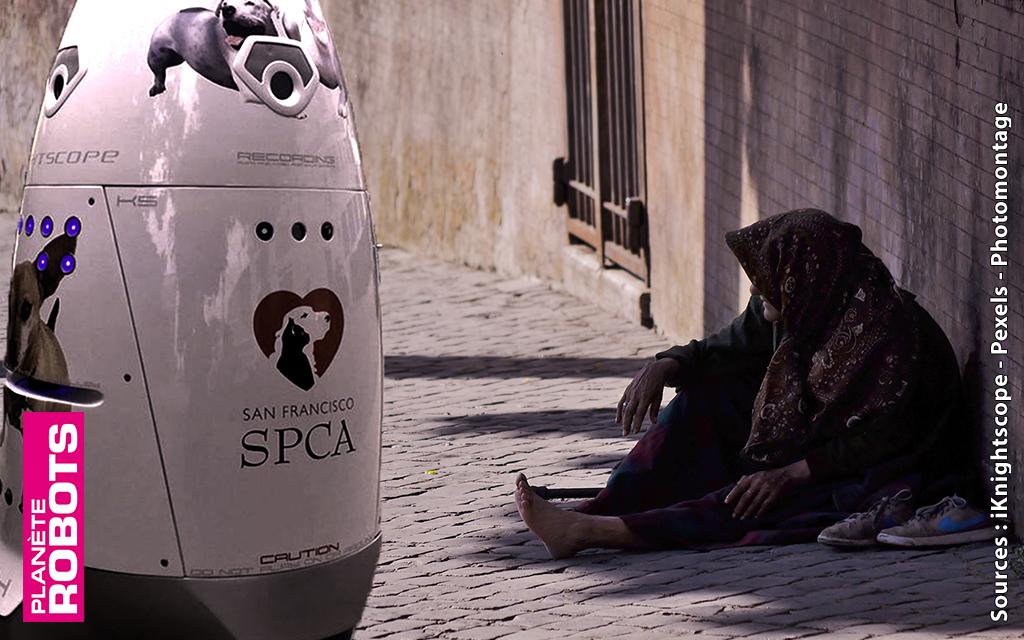 Le robot qui chassait les sans-abri