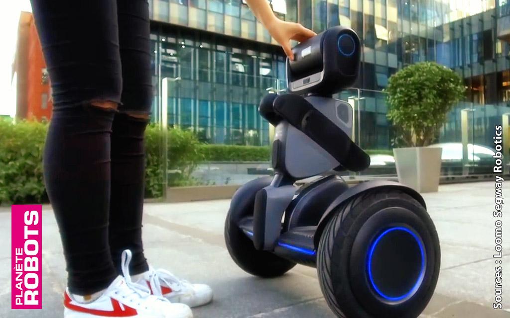 Loomo le robot en hoverboard